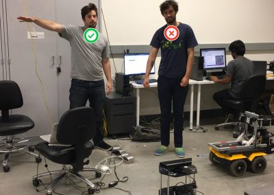 Interactive Simon Says Game (Kinect + ROS + turtlebot)